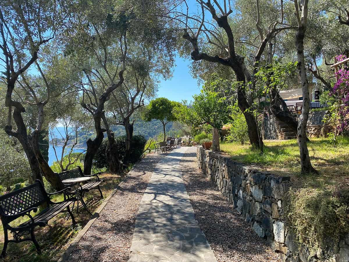 Ligurische Küste Cinque Terre Fernwanderung Etappe 3 15