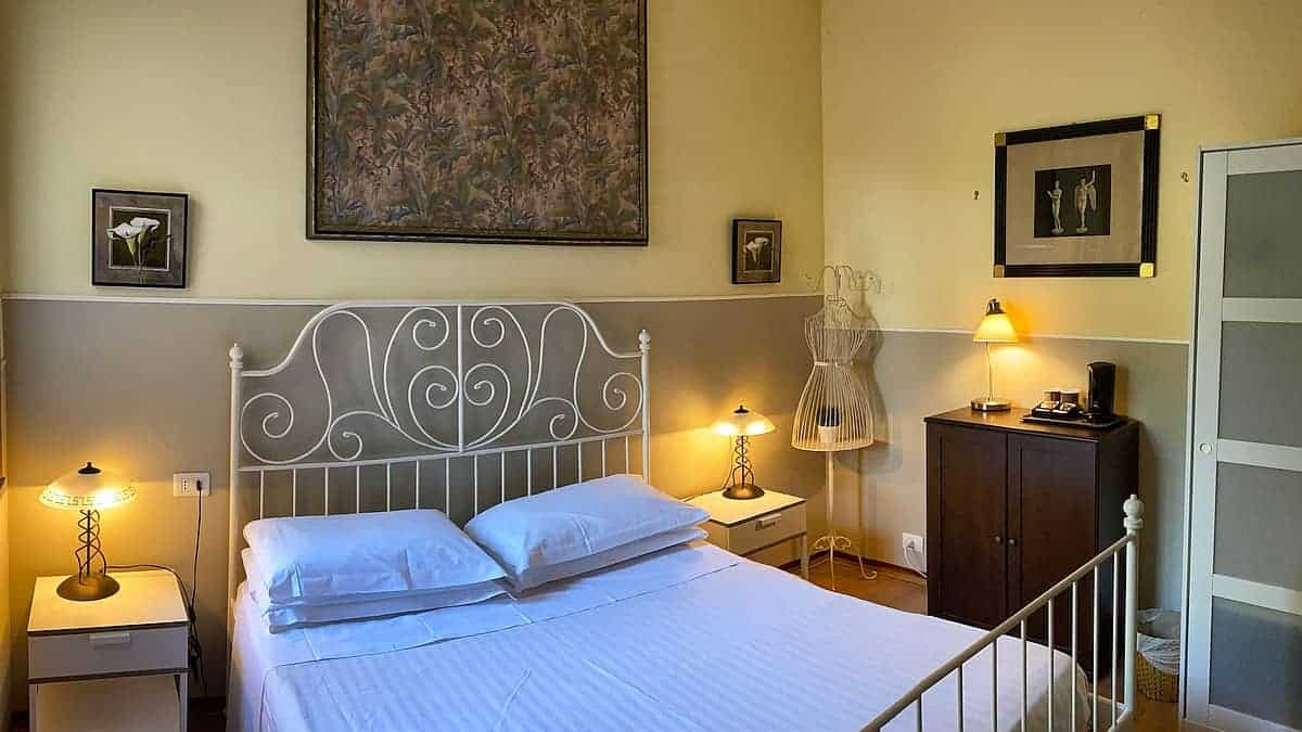 Ligurische Küste Cinque Terre Fernwanderung Etappe 3 Unterkunft in Bonassola 3