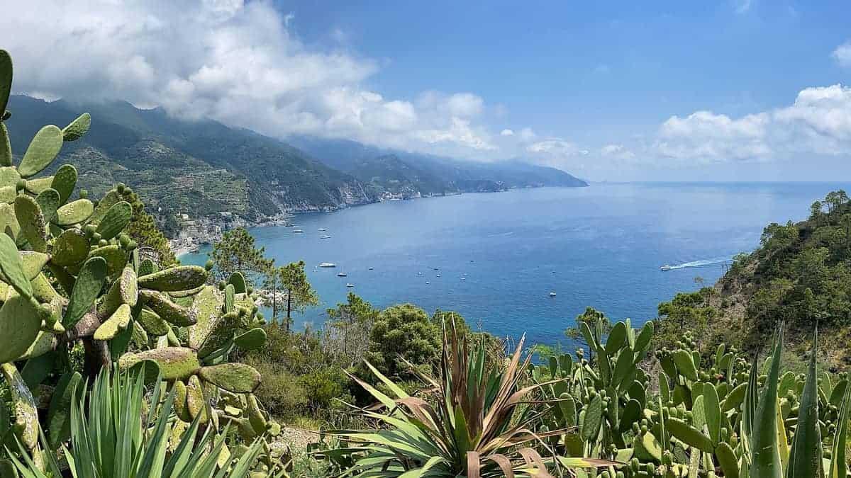Ligurische Küste Cinque Terre Fernwanderung Etappe 4 15