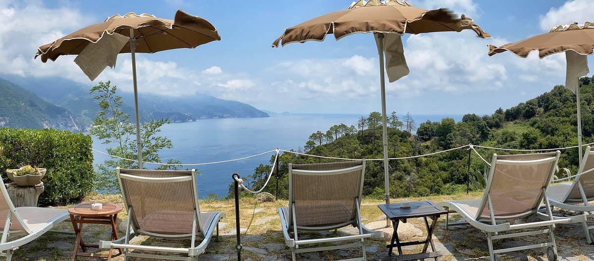 Ligurische Küste Cinque Terre Fernwanderung Etappe 4 16