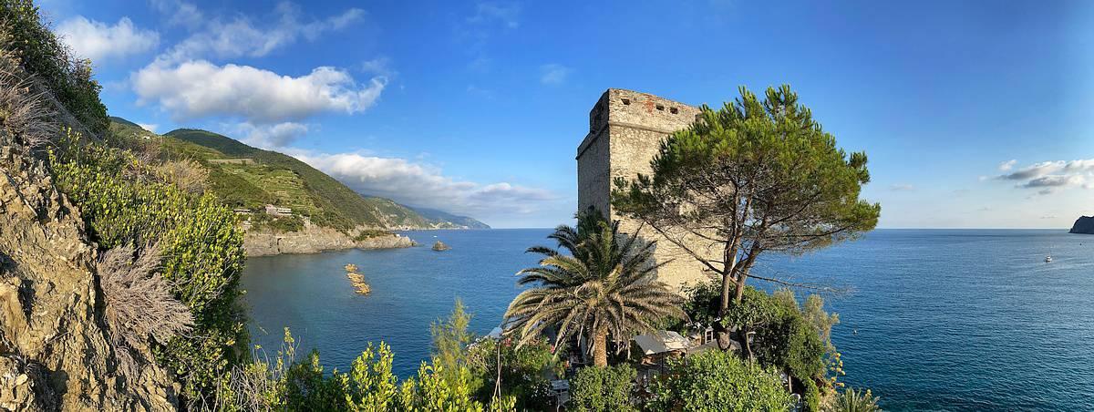 Ligurische Küste Cinque Terre Fernwanderung Etappe 4 22