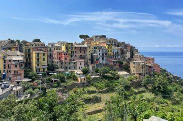 Ligurische Küste Cinque Terre Fernwanderung Etappe 5 12