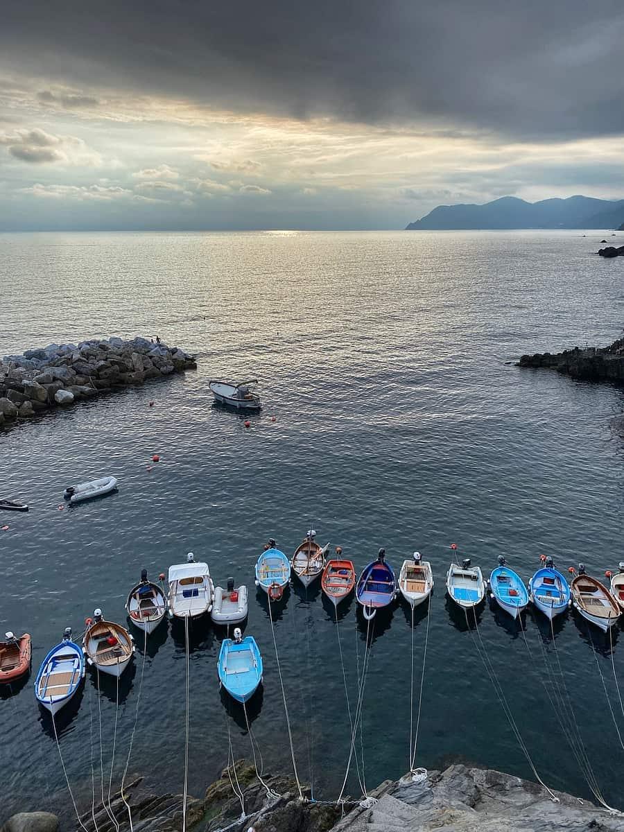 Ligurische Küste Cinque Terre Fernwanderung Etappe 5 Riomaggiore 02