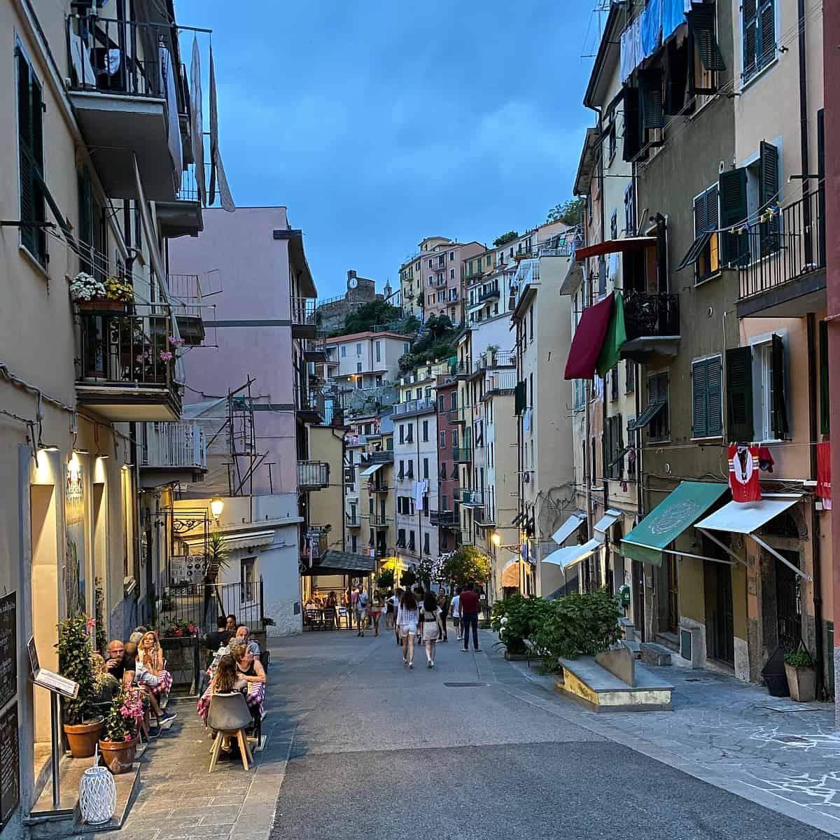 Ligurische Küste Cinque Terre Fernwanderung Etappe 5 Riomaggiore 03