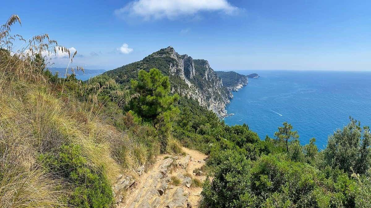 Ligurische Küste Cinque Terre Fernwanderung Etappe 6 12