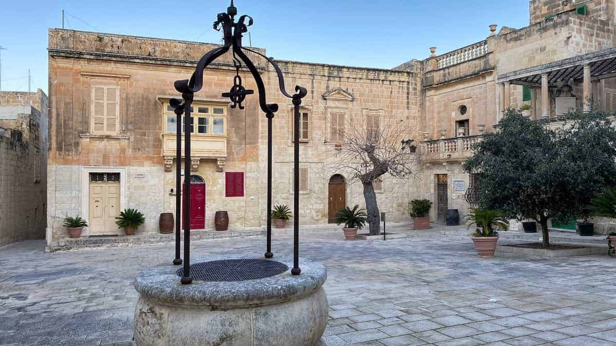 Malta Mdina im Morgenlicht