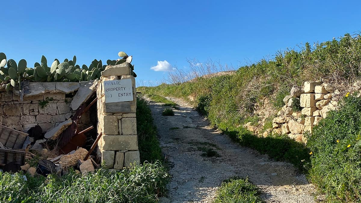 Malta und Gozo Privatweg