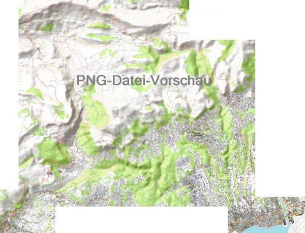 PNG Datei Wanderkarte Nizza Grasse w
