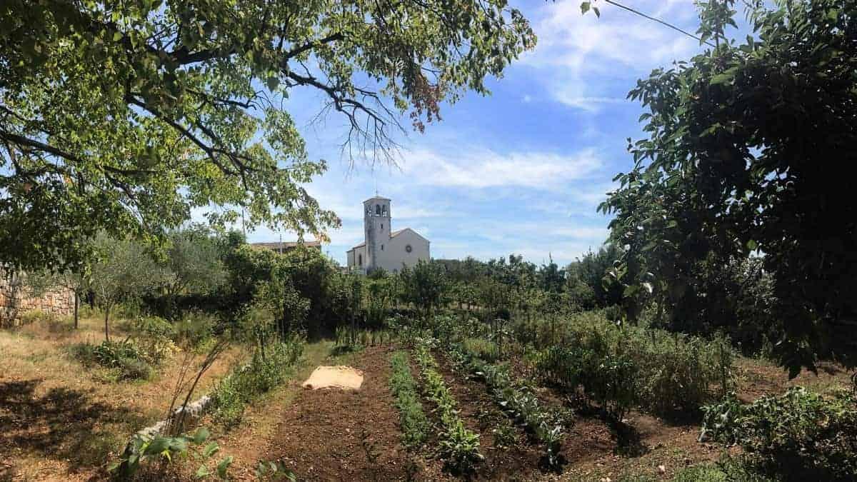 Rundwanderweg Triest Etappe 2 der ländliche Karst bei Slivia