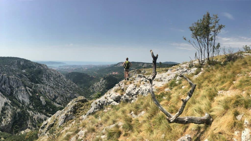 Rundwanderweg Triest Etappe 5 Der Naturpark Val Rosandra bietet spektakuläre Ausblicke