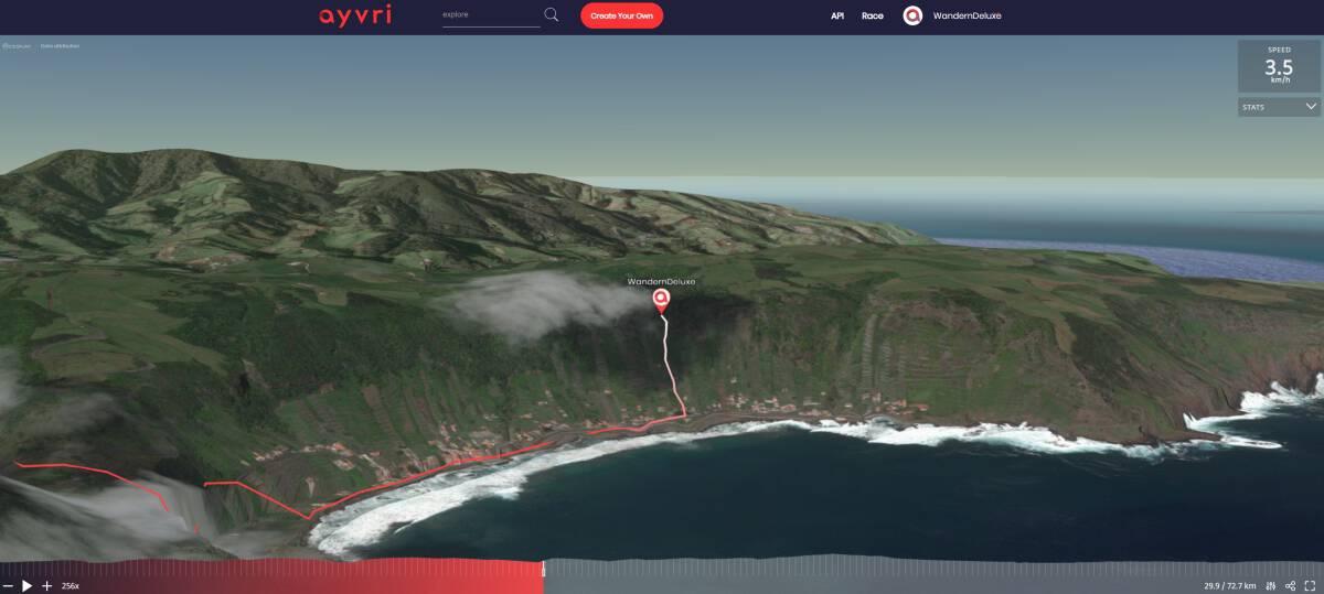 Santa Maria Azoren Inselumrundung in 3D Vorschau