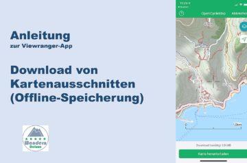 Viewranger App Anleitung Kartendownload wanderndeluxe 2020