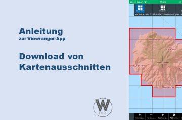 Viewranger App Anleitung Kartendownload wanderndeluxe