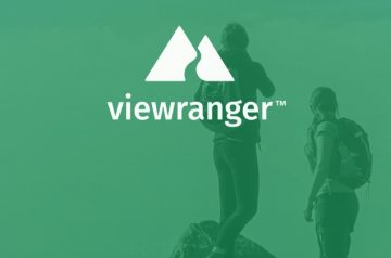 Viewranger App Startbildschirm 750px