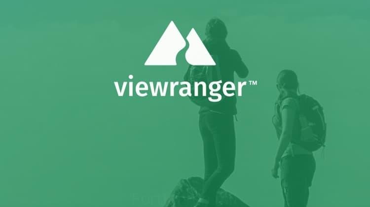Viewranger App Startbildschirm