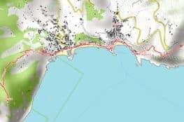 Vorschau pdf Wanderkarte Cinque Terre Aufloesung 300 dpi