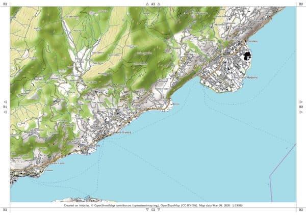Vorschau pdf Wanderkarte Gardasee Sueden Blatt B2
