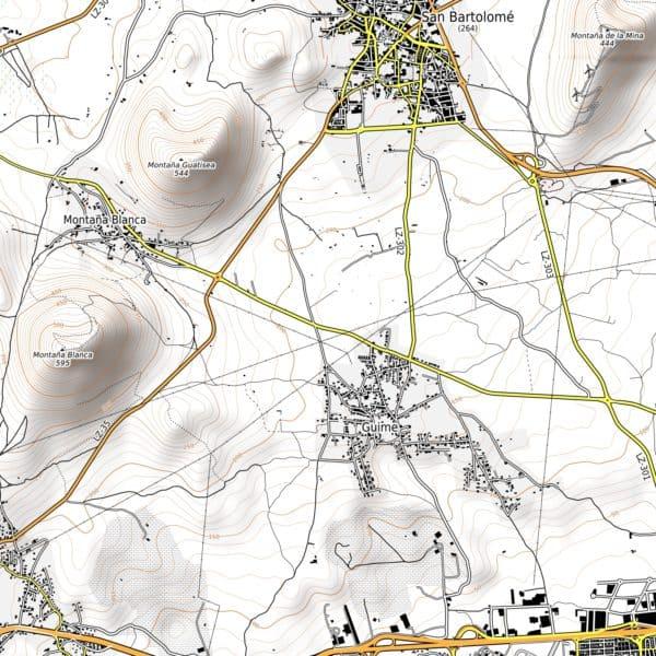 Vorschau pdf Wanderkarte Lanzarote Aufloesung 300 dpi