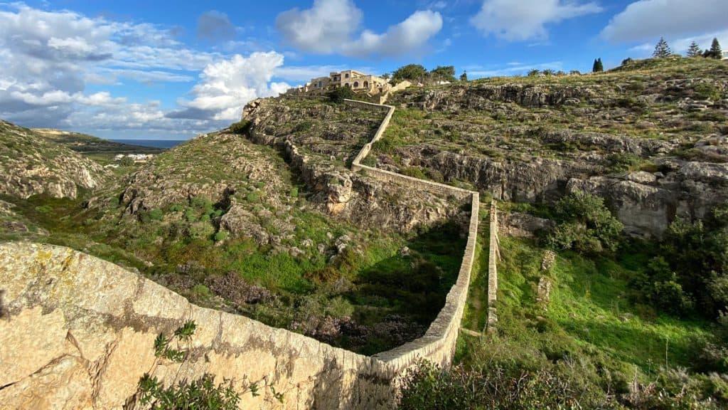 Wanderung Victoria Lines Malta 03